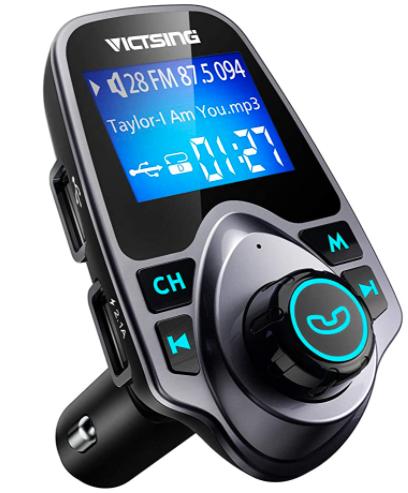 VicTsing Bluetooth FM Transmitter for Car - $9.34 + FSSS