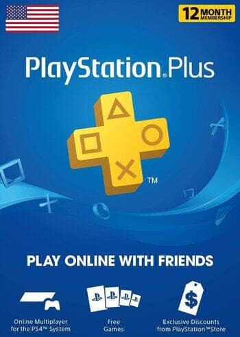PlayStation Plus 1 Year Subscription (Digital Delivery) $28.45