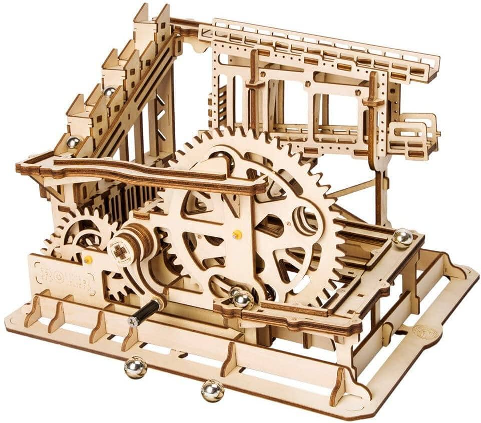 ROBOTIME 3D Wooden Craft Kits (Mechanical Gears Brain Teaser Games) for $19.20 + Free Shipping