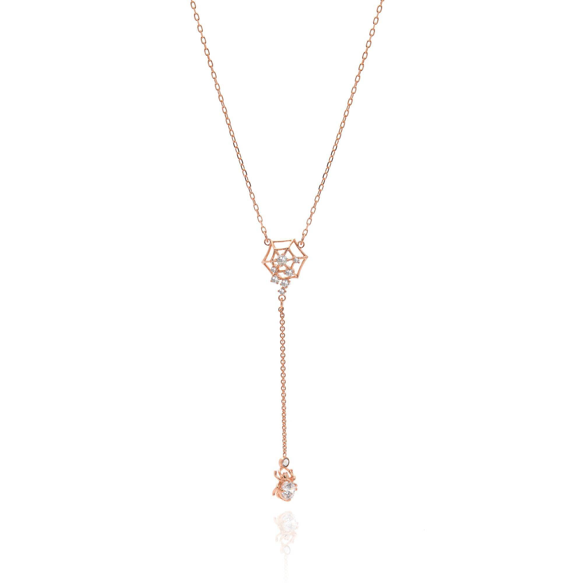 Swarovski Rose Gold Tone Necklace $29 + FS