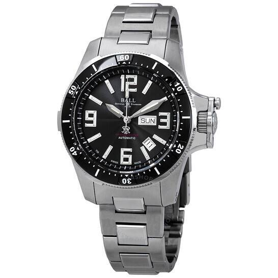 BALL Engineer Hydrocarbon Airborne Chronometer Automatic Black Dial Men's Watch DM2076C-S1CAJ-BK $1495 + Free Shipping