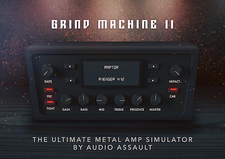 Grind Machine II Guitar Amp and Impulse Response Plugin Free