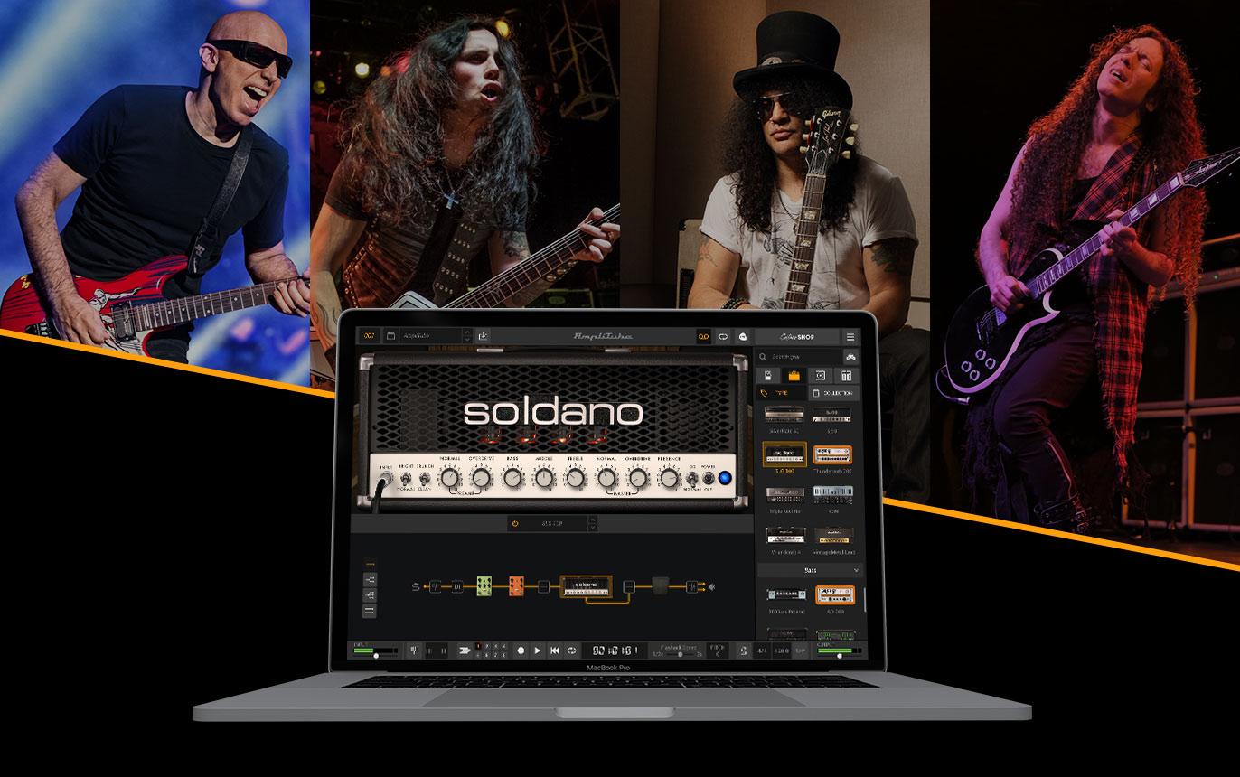 Soldano SLO-100 Amp Head for AmpliTube 5 (macOS / PC digital download) FREE