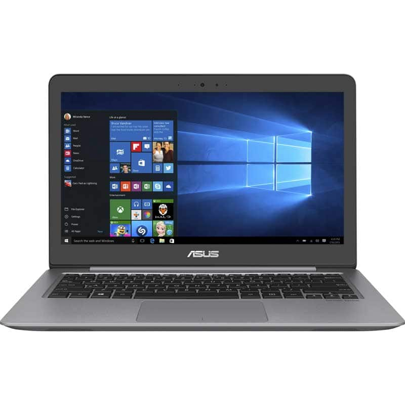 Asus Zenbook 13.3-inch Full HD IPS Laptop 8GB 1TB HDD Windows 10 Home Intel i5 - Aluminum $245+Tax YMMV Fry's