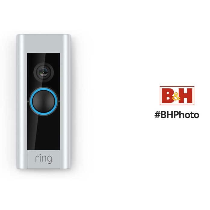 Ring Video Doorbell Pro - $139 no tax for most states @ B&H