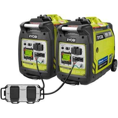 Ryobi 2-2300watt invertors and parallel kit for $999