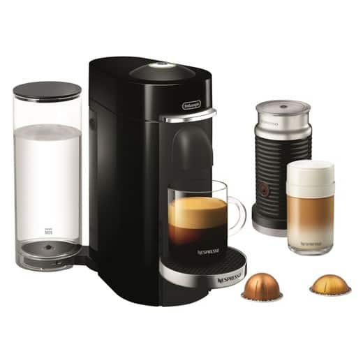 Nespresso Vertuo Plus Bundle Deluxe Black - Includes Aeroccino 3 Milk Frother for $113.74/FS @ Target
