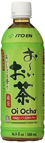 Ito En Tea Oi Ocha Green Tea, Unsweetened, 16.9 Ounce (Pack of 12): $12.99 or $12.34 w/ S&S