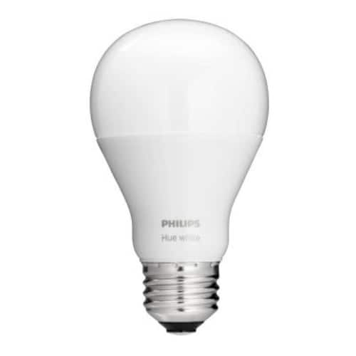 Philips Hue White A19 60W Equivalent Dimmable LED Smart Bulb $10.97 YMMV