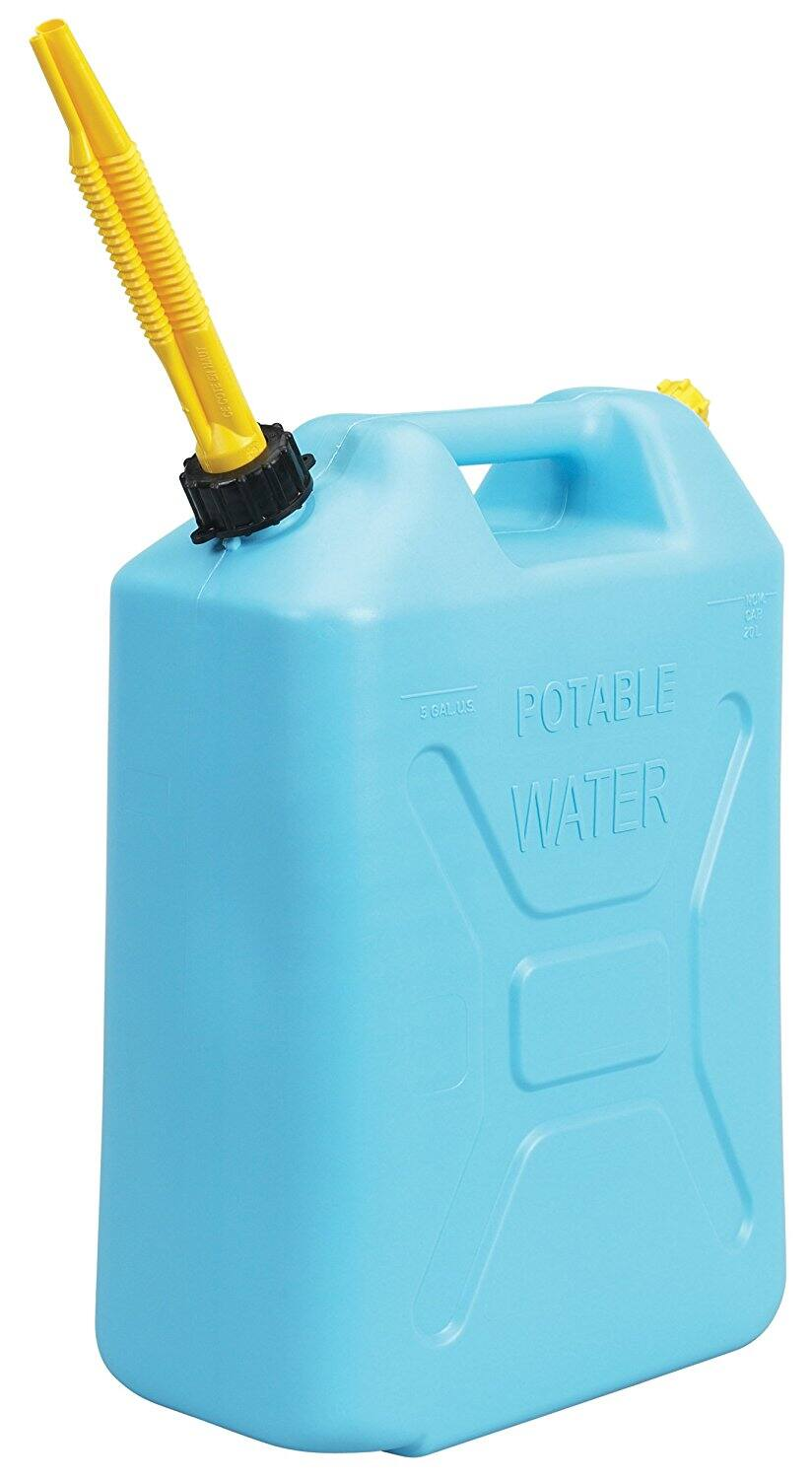 Emergency Water Storage - 5 Gallon Water for Container on Sale $13.59 - Free Shipping at $50