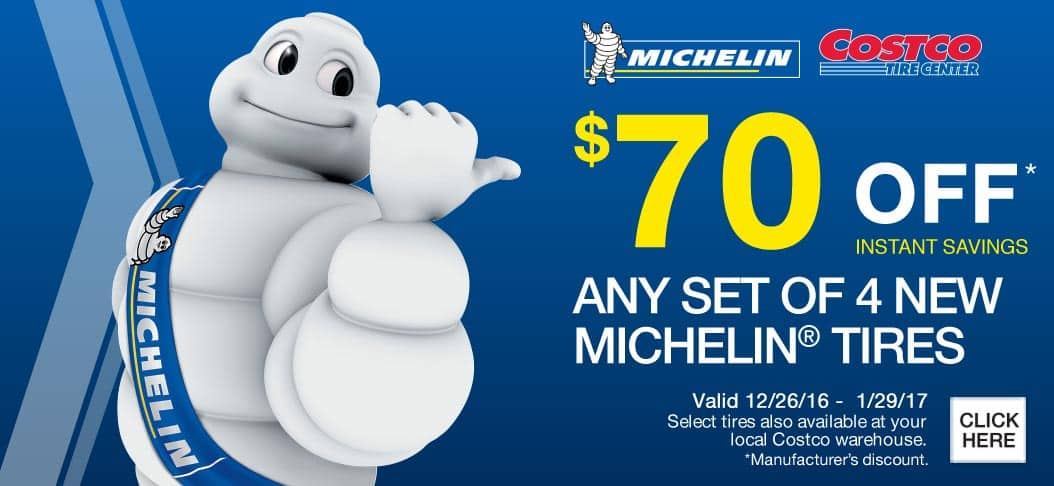 Michelin Tires at Costco