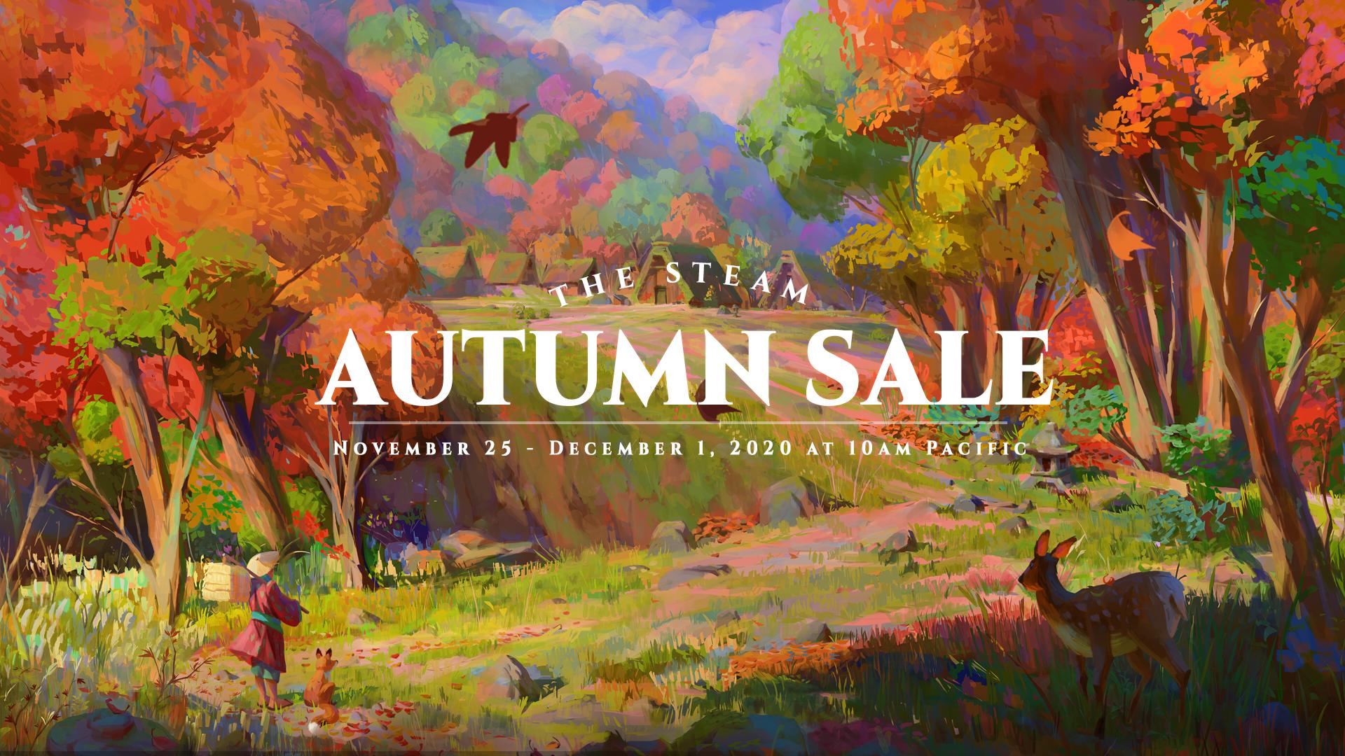 Steam - Autumn PC Video Game sale Nov 25 to Dec 1st