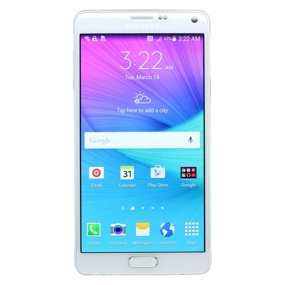 32GB Galaxy Note 4 Smartphones (Refurb) + $52 SYWR Pts: From $209 + Free Shipping