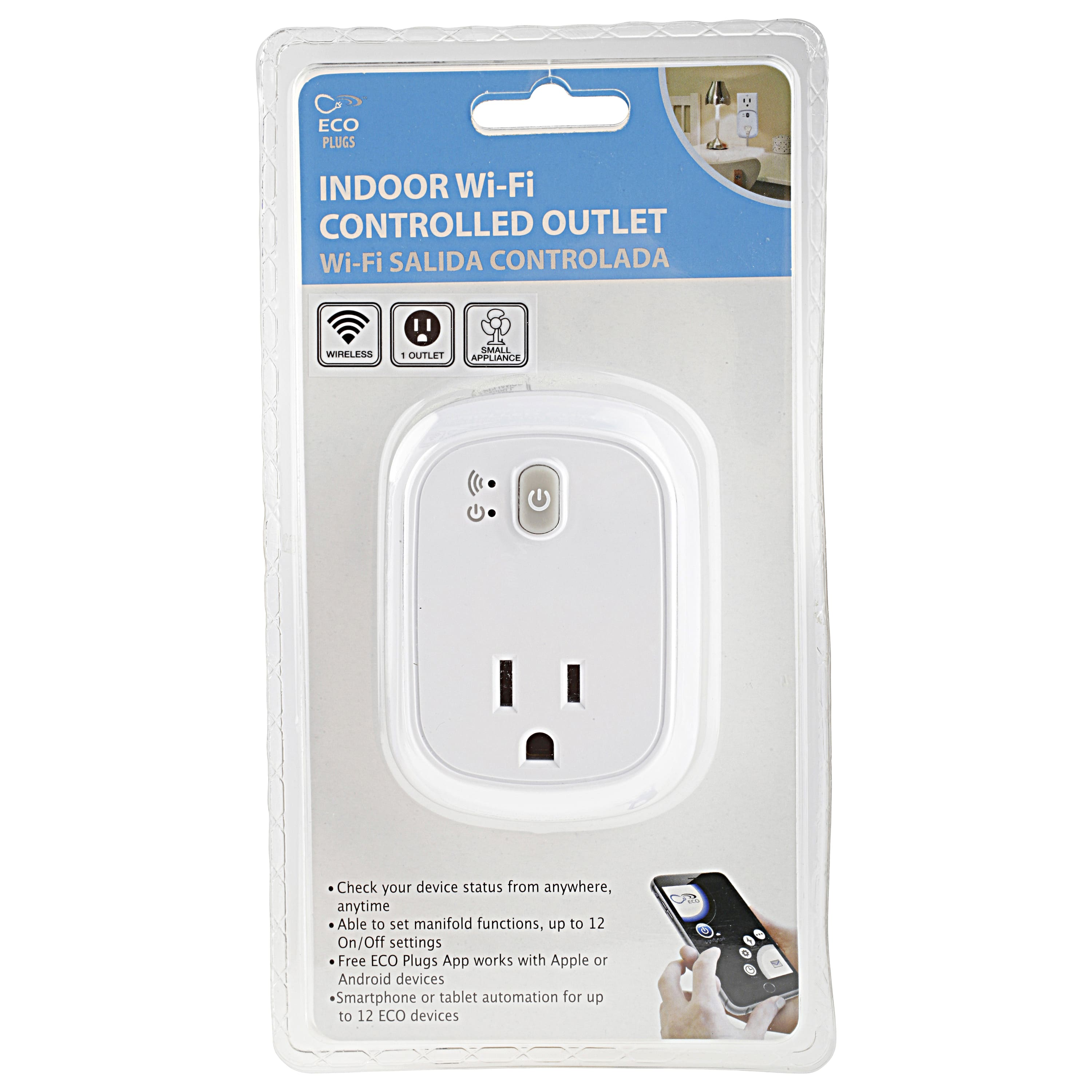 Select Walmart Stores: ECO Indoor WiFi Controlled Outlet