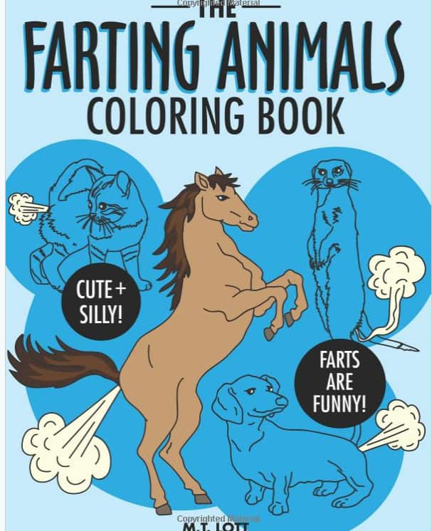 The Farting Animals Coloring Book $5.39 w/Prime shipping (Amazon)