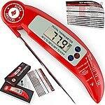Free grill brush (value $9.97) when you buy food thermometer (value $19.97) on Amazon with coupon (33% saving overall)