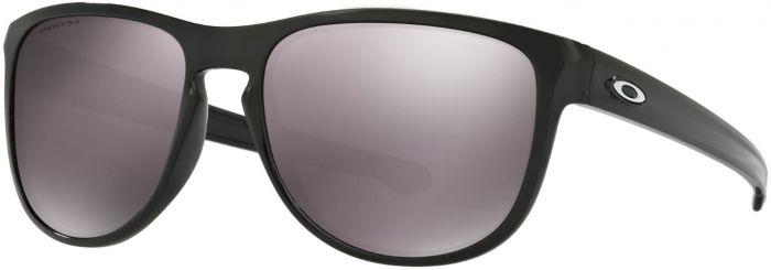 93410ffa8f Oakley Sliver Round Sunglasses w  Black Iridium Polarized Lenses ...