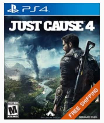 Gamefly Pre-Owned Game Sale: Just Cause 4 (PS4 / XB1) $20, Shadow of the Tomb Raider (PS4) $13 & More + Free S&H