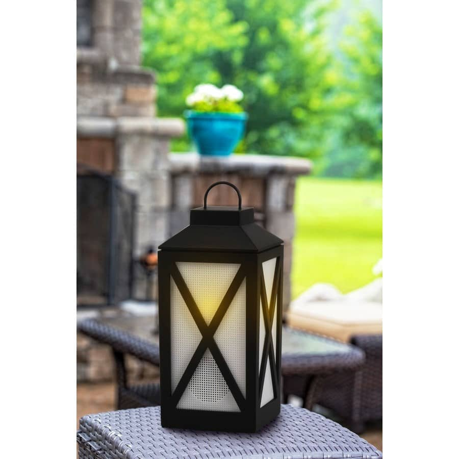 Bluetooth Speaker with LED candle  $8.00 Lowes Clearance YMMV