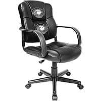Walmart Deal: CyberMonday 1day Office Massage Chair - Relaxzen 2-Motor Mid-Back Leather (variouscolor) $49.88 + free instore pickup or add 12cent for free shipping