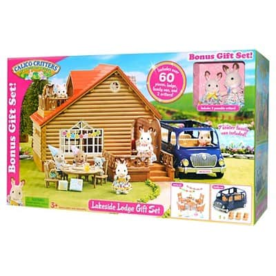 Calico Critters Lakeside Lodge Gift Set Walmart B M Clearance 19 As Low As 9 Msrp 99