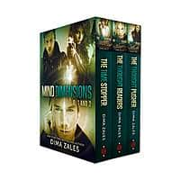 Amazon Deal: Discounted e-books by NYT Bestselling Authors The Mind Dimensions boxset  & more (from $.99 for a 3 book boxset to - $1.99 for a true scifi classic)