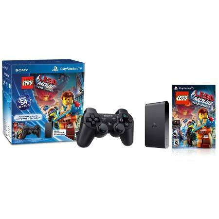 PlayStation TV - PSTV Bundle with DualShock 3 and Lego Movie Video Game for PS Vita - $40 (Reg $100) - Target B&M w/ Cartwheel and 10% off - today only