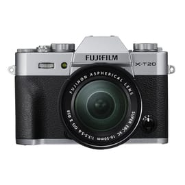 Fuji XT20 Mirrorless Military Appreciation Bundle w XC16-50mm Lens,  XC 50-230 mm lens, 16GB SD Card, Bottom Leather Case - $699 shipped
