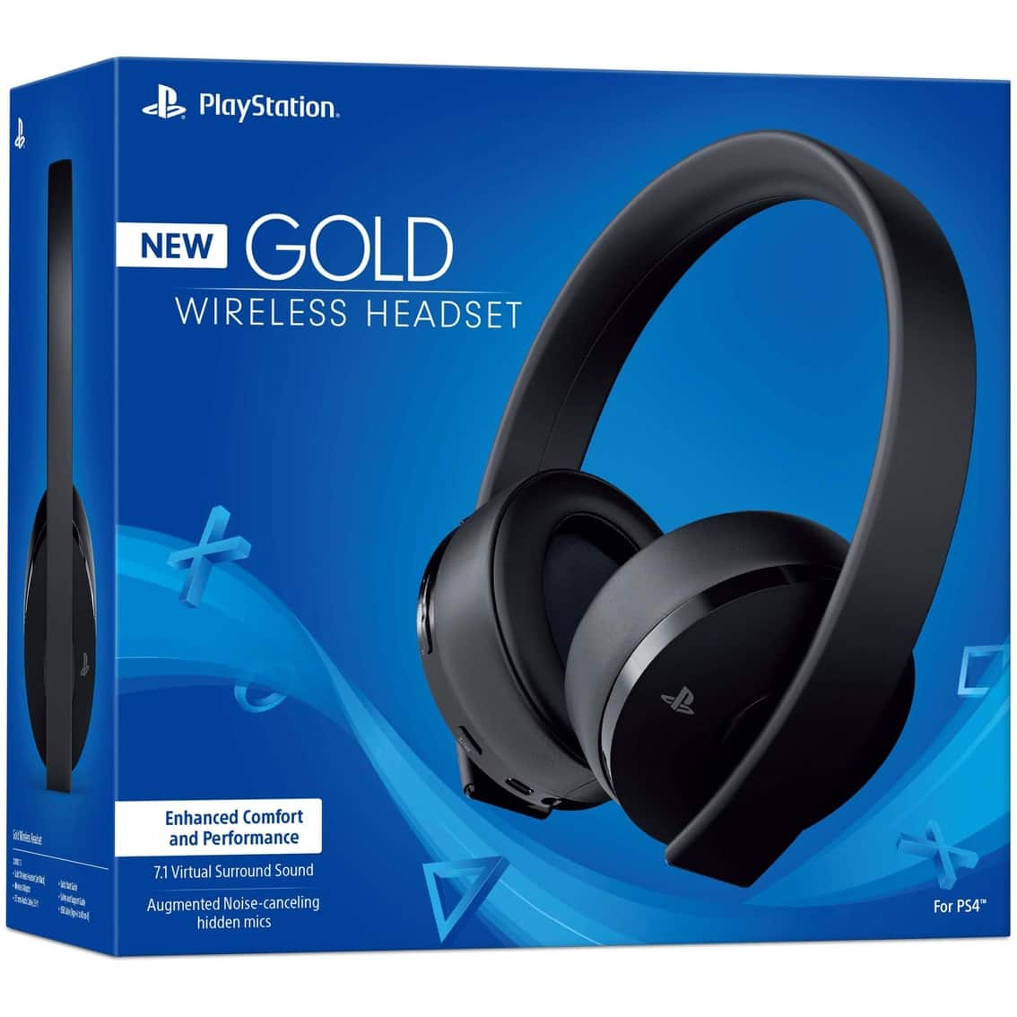 Sony Gold Wireless PS4 Headset (old version and new version) - $59 shipped (AAFES)