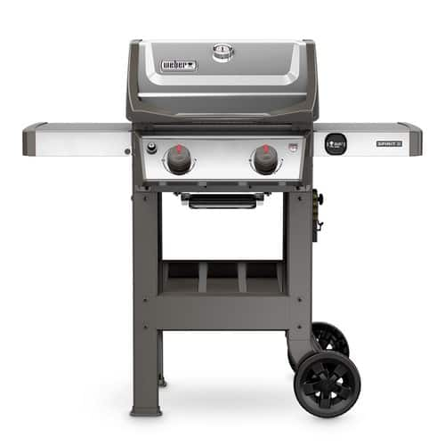 Home Depot [YMMV] Clearance Stainless Weber Spirit II S-210 2-Burner Propane Gas Grill $225