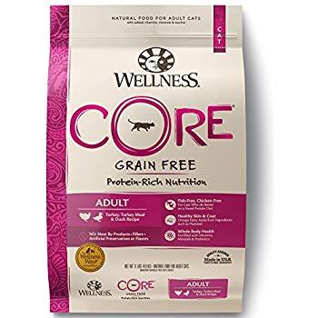 Wellness Core Cat food  - Turkey Duck 11 pound bag $28.59