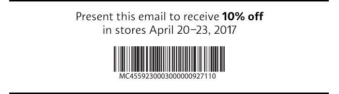 Sephora 10% Off Everything Starting 4/20
