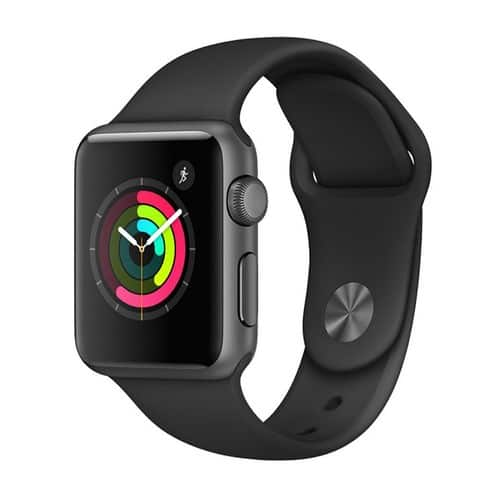Apple® Watch Series 2 38mm Space Gray Aluminum Case with Black Sport Band $249.99