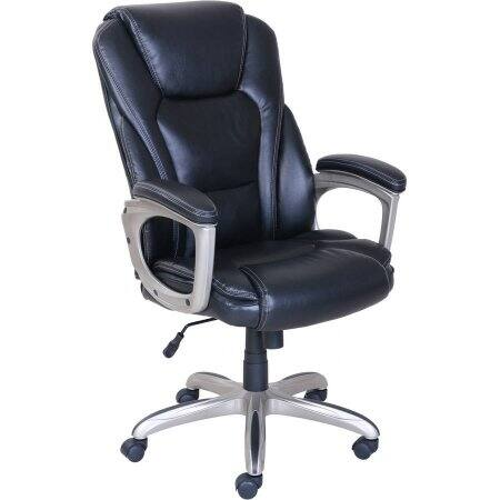 Serta Big & Tall Commercial Office Chair with Memory Foam, Black - $89 - Walmart