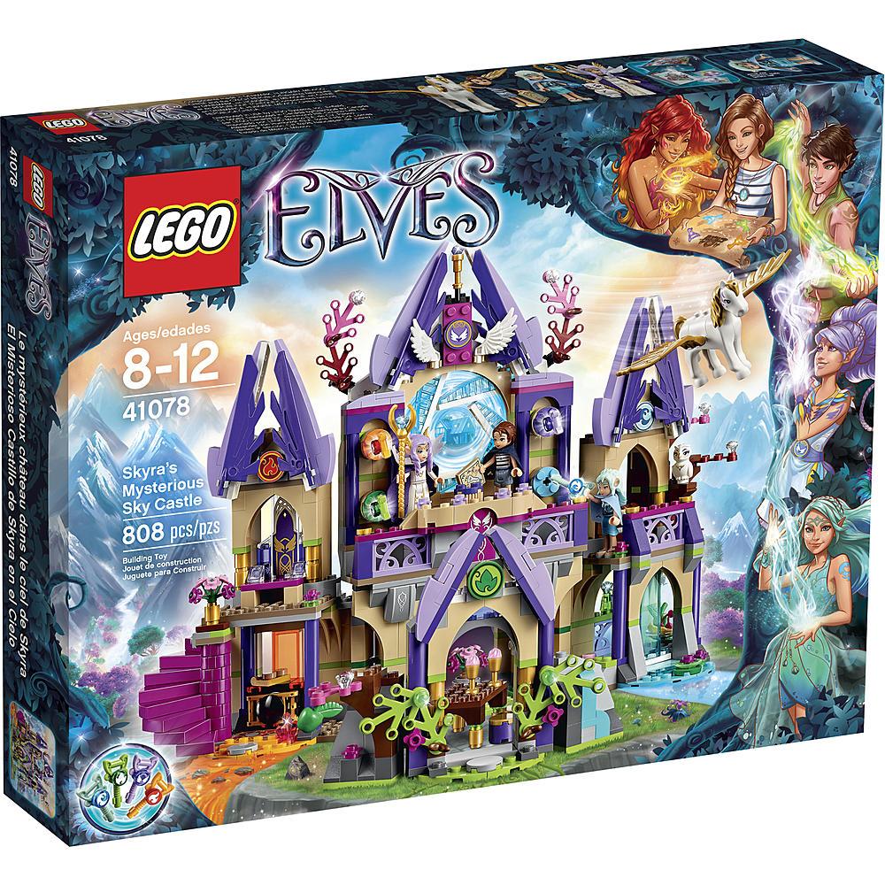 Kmart LEGO Elves - Skyra's Mysterious Sky Castle #41078 on sale for $49.99, regular $82.99