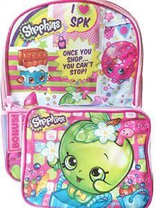 Shopkins Backpack & Lunchbox $9.99 on Amazon (compare to $19.99)