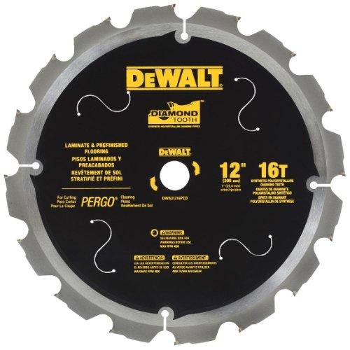 """DeWalt Laminate flooring saw blade 10 & 12"""" 14.50 Lowes YMMV"""