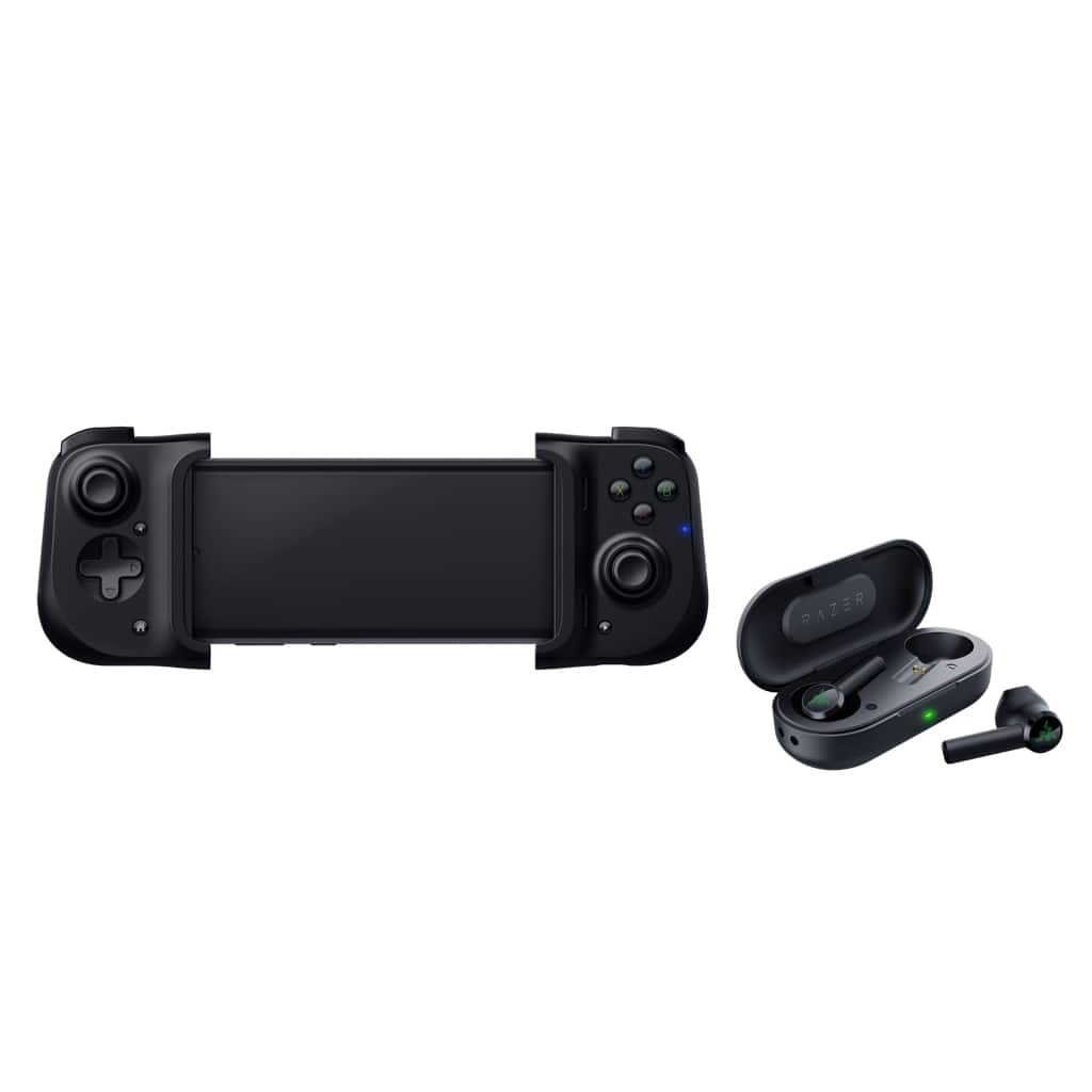 Razer Mobile Gaming Bundle - Includes Kishi for Android and Hammerhead True Wireless Headphones - Walmart.com $133