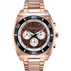 Caravelle New York Men's Clark Chronograph Watch 45A110 $17.99 $18
