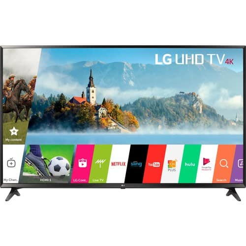 LG 60UJ6300 LED Smart 4K Ultra HD TV HDR $680