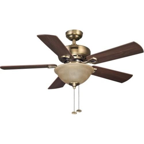 Honeywell 44 inch Blaise Antique Brass Ceiling Fan $35