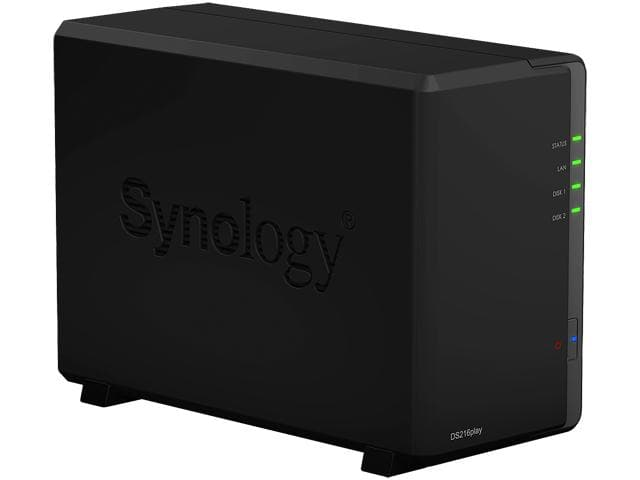 Synology DS216play Diskless System Network Storage NAS $180