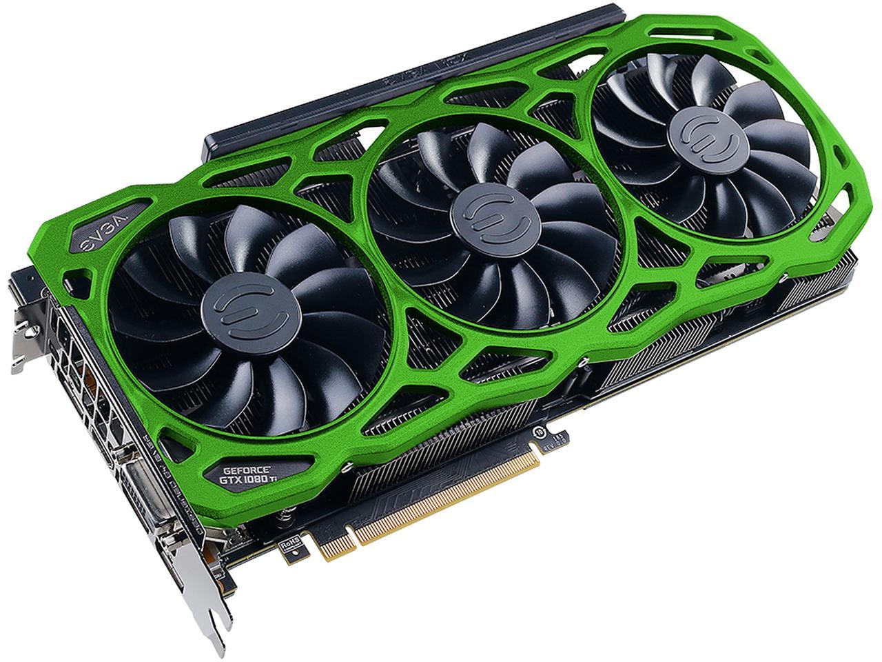 EVGA GeForce GTX 1080 Ti FTW3 Blue/Green $700 +$100 Newegg GC