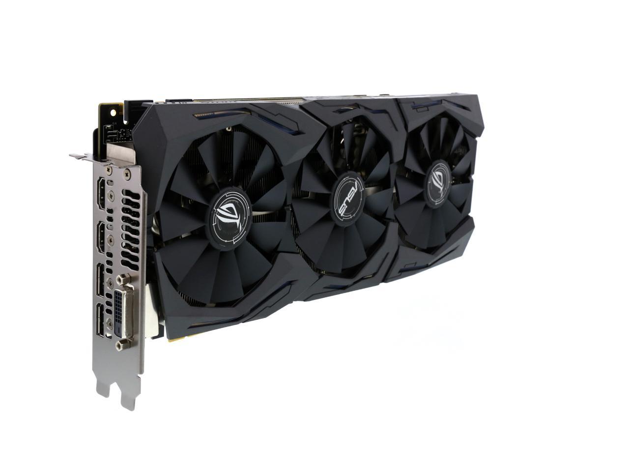 ASUS ROG GeForce GTX 1080 STRIX-GTX1080-A8G-GAMING 8GB w Destiny 2 $450 AR and MP promo