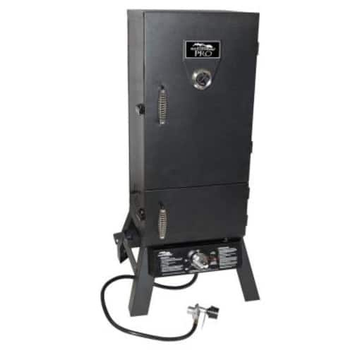 Masterbuilt Pro Charcoal and Propane Dual Fuel Smoker $99