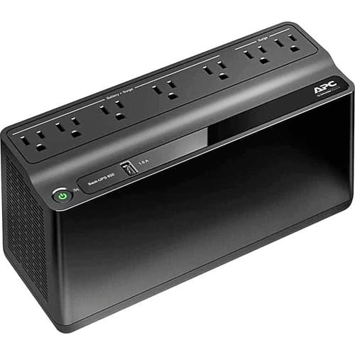 APC - Back-UPS 650VA Battery Back-Up System - Black $34.99