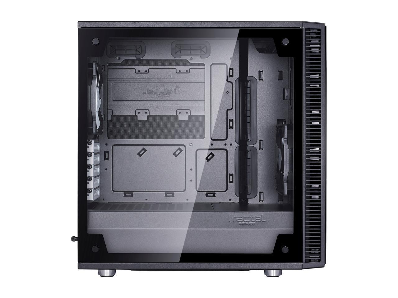 Fractal Define Mini C / Define C Tempered Glass MicroATX/ATX Case  $70