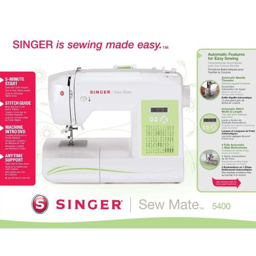 Singer 5400 Sew Mate 60-stitch Sewing Machine $70.39
