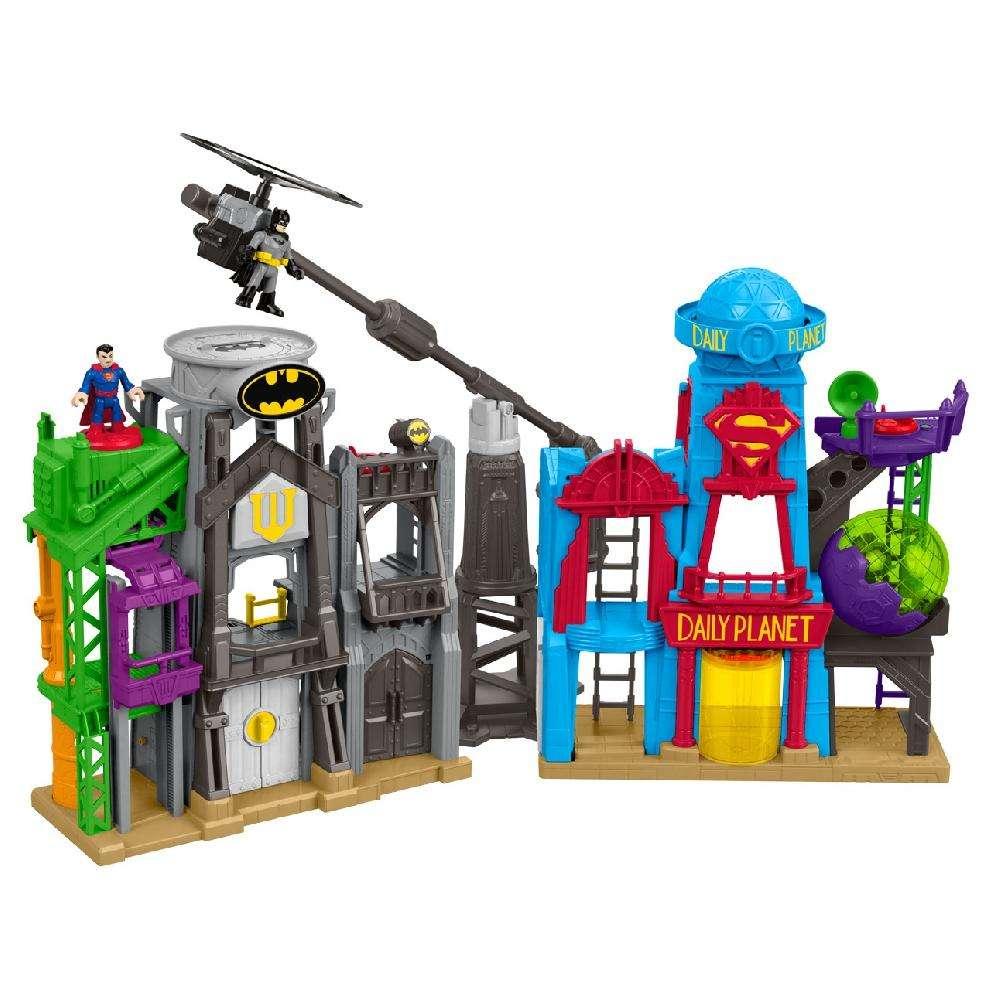 Imaginext DC Super Friends Super Hero Flight City $36.86