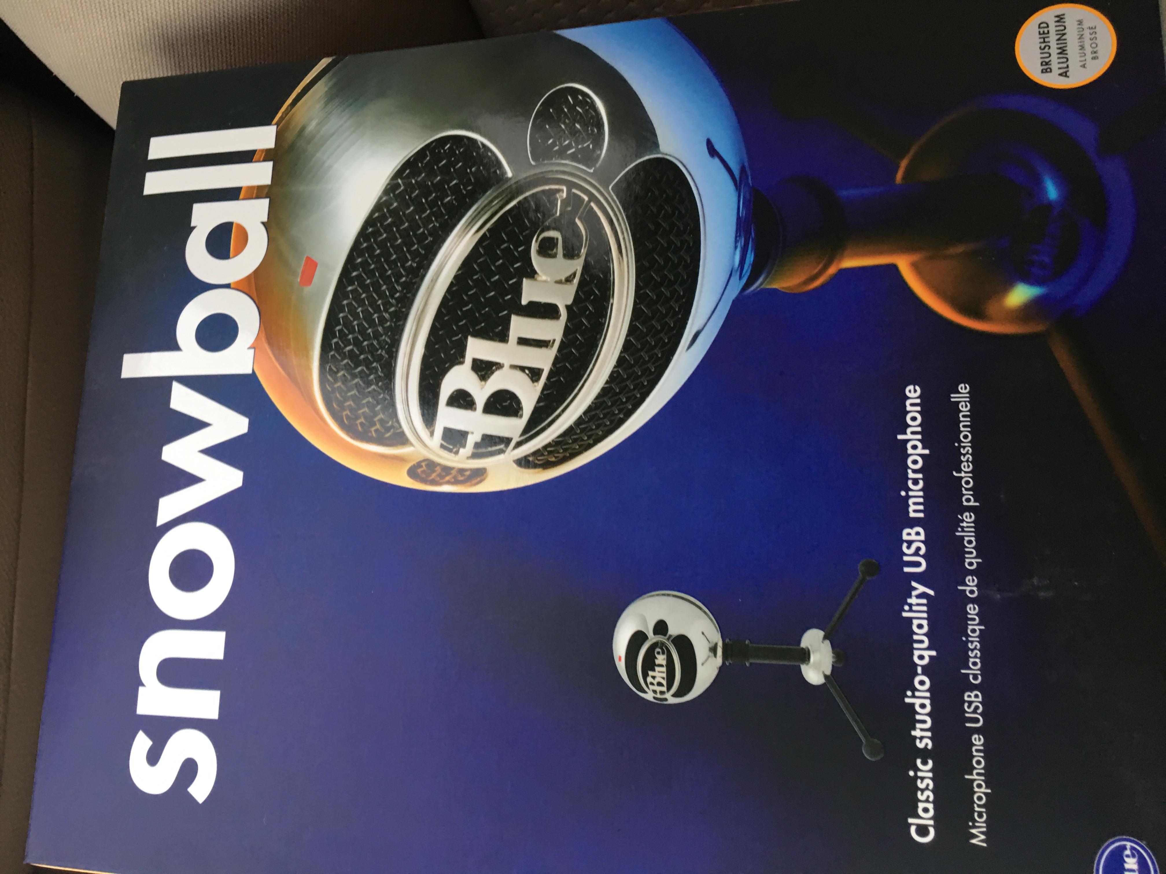 Blue Snowball USB Microphone for $29.98 at Sam's Club (B&M, YMMV)